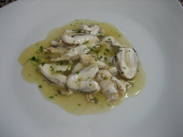 cocochas en salsa verde